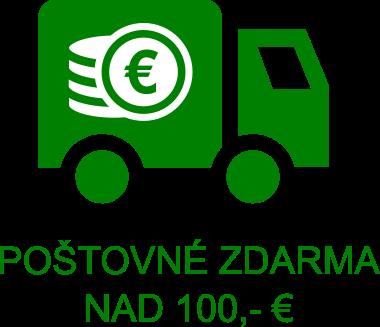 Poštovné zdarma nad 100€